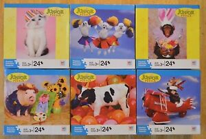 Preschool Puzzles Pack 24 Piece Animal Puzzle Toddler Junior Jigsaw Kids Gift