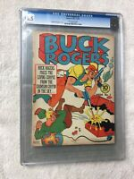 Buck Rogers #3 CGC 6.5 Eastern Color December 1941 Off-white Pages golden age