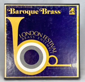 The Magnificent Sound of Baroque Brass Reel to Reel Tape 7 1/2 IPS London Dolby