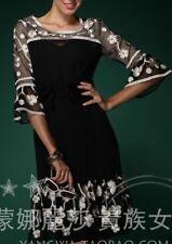 The Stunning Embellished Black Sheer Dress, Size 12