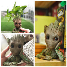 Cute Tree Man Model Figure Garden Aquarium Plant Bonsai Pot Stone Decoration