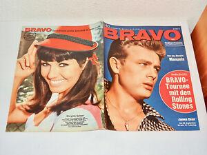 BRAVO-Heft Nr. 40 von 1965 komplett mit Starschnitt MARIE VERSINI!