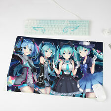 Anime Hatsune Miku Vocaloid Big Mouse Pad Play mat GAME mat Mousepad  B