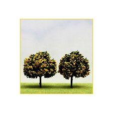 2 alberi di frutti 7 cm fiorenti giallo ( Er Decor - ER.2382 )