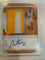 2019-20 Panini National Treasures Rookie Patch Auto Grant Williams /25 RPA