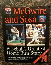 McGwire and Sosa: Baseball's Greatest Home Run Story, 1998, softcover