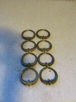 "Lot of (8) VTG KBC Keeler Brass Co 3"" Ring Pull N 399 Furniture Hardware"
