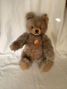 """Steiff Original Teddy Bear 0202/41 14"""", Moveable Limbs and Head"""