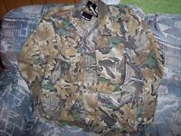Men Small Advantage Camo Shirt Classic Advantage Camo Hunting Shirt Vintage Camo