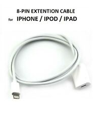 8 Pin Lightning Extender Extension Data Cable for iPhone 5S 6 iPad Air ipod Mini