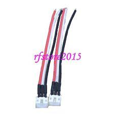 2pcs-Flite Bestia E/Sbach UMX Maschio (ESC/caricatore) Connettore 22awg 10cm