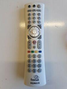 Original Humax Remote Control for Humax Freesat HDR1010S / white !!!!