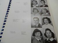 1940 MOUNTAIN VIEW UNION HIGH SCHOOL California Original YEARBOOK Blue and Gray