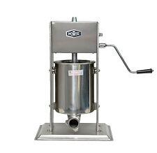 KWS Commercial Sausage Stuffer maker ST-10L/ 22LB heavy duty gear system