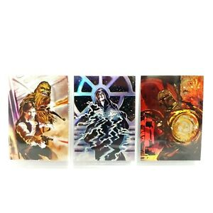 1996 Topps Star Wars Vintage Finest Foil Collectable Trading Cards Matrix 1 3 4