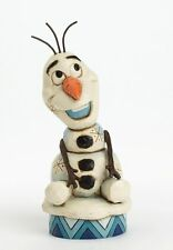 Disney Traditions Frozen Silly Snowman Olaf Figurine new in box 23185