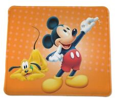 Mickey Mouse Pluto Disney Disneyland Anti slip COMPUTER MOUSE PAD 9 X 7inch