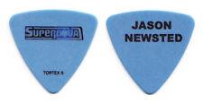 Rock Star Supernova Jason Newsted Blue Bass Guitar Pick - 2007 Tour Metallica