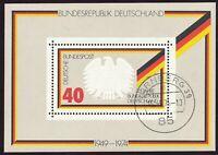 "BUNDESREPUBLIK 1974 Block 25 Jahre Bundesrepublik Deutschland EST ""NÜRNBERG 39"""