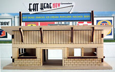 HO Laser-cut Concession Stand