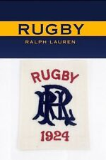 RUGBY RALPH LAUREN RRL SPELL OUT 1924 PATCH RLFC Polo P-wings Stadium 92 Ski