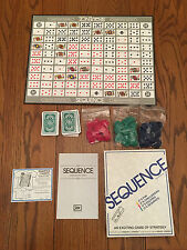 JAX SEQUENCE CARD BOARD GAME 100% COMPLETE IN BOX IN EXCELLENT CONDITION