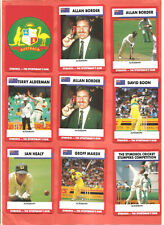 Trade Cards. Stimorol. 33+1/84 Cricket 1990-1991. Part Set