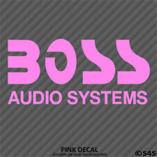Boss Audio Systems Car Stereo Vinyl Decal Sticker - Choose Color