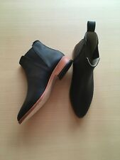 NEW NISOLO WOMENS CHELSEA BOOT BLACK