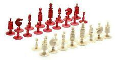 "Oleg Raikis Hand-Carved Signed ""Thomas Jefferson"" Mammoth Chess Set"