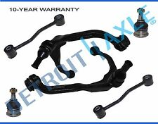 6pc Front Upper Control Arm Sway Bar Ball Joint Kit for Dodge Nitro Jeep Liberty