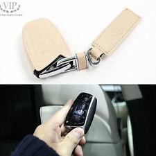 Baby Carf Leather Smart Key Holder 3 Color For Hyundai Santa Fe 2013 2014 2015