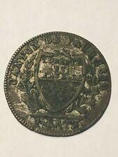 Switzerland 1 Batz 1830  Canton VAUD  SILVER BILLON