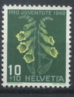 Switzerland 1948 Pro Juventute 10+10c stamp unmounted mint