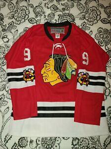 Bobby Hull Chicago Blackhawks Jersey XL 52