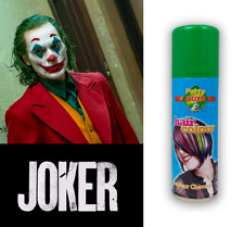 Green Colour Hair Spray New Joker Suicide Squad Films 125ml