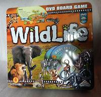 Wildlife DVD safari Boardgame 2005 Identity games 100% complete Educational +fun