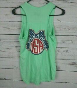 Royce Womens Tank Top Shirt Mint Green Size Medium USA