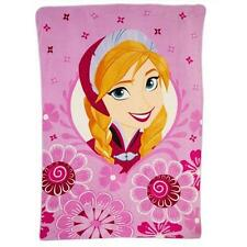 Disney Frozen ANNA IN SPRING 90 X 62 TWIN Silk-Touch Plush Blanket SUPER SOFT