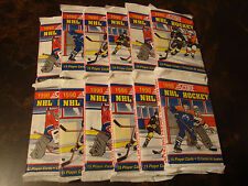 1990-91 Score Hockey---Canadian---Packs---Lot Of 12---Brodeur, Jagr, Lindros RCs
