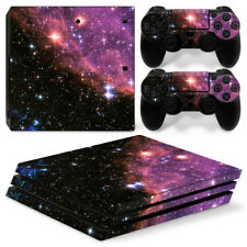 Sony PS4 Pro Console and Controller Skins / Decal-- Space / Stars / Nebula P-636