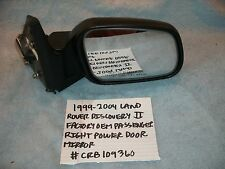 1999-2004 RANGE ROVER DISCOVERY II FACTORY OEM PASSENGER POWER MIRROR CRB109360