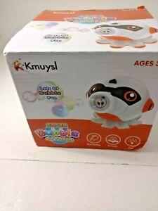KMUYSL Bubble Machine for Kids Toddlers Bubble Blower 3000+ Bubbles Per Minute