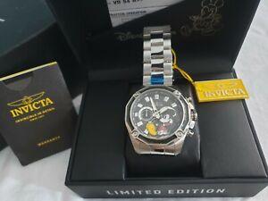 Scarce Rare Brand New INVICTA Disney Mickey Mens Watch Limited Edition 3000 GEM