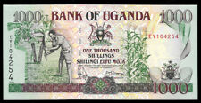 World Paper Money - Uganda 1000 Shillings 1994 P36 @ Crisp Unc