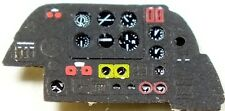 BEAUFIGHTER MK.VI - PE, 3D, COLORED INSTRUMENT PANEL for HASEGAWA, MPM#7223 YAHU
