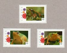 DARWIN'S FROG = Set of 3 Picture Postage stamps MNH Canada 2016 [p16/04fr3]