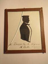 Heidelberg - 1852  Student M. Knappe aus Alt-? - Mütze - Schattenriss Silhouette
