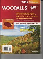 AAA Woodall's 2015 Mid-Atlantic Official Campground Guide NEW 853307002303 E1-47
