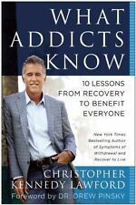 What addicts know by Christopher Kennedy Lawford (Hardback, 2014)
